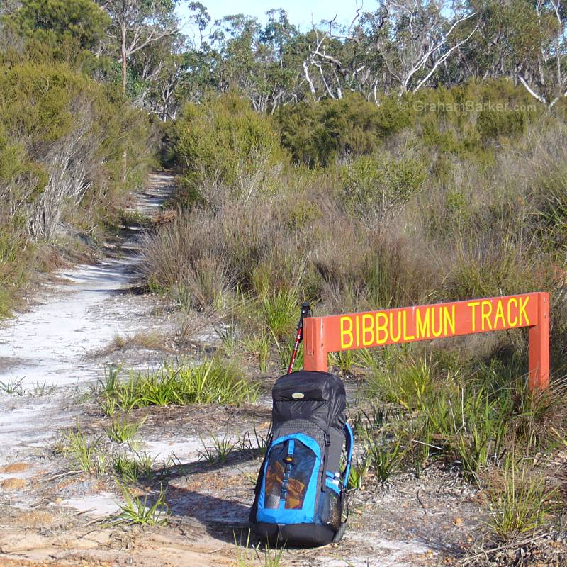 Good organisation and packing helps me to hike with confidence and a clear mind. Bibbulmun Track, Western Australia