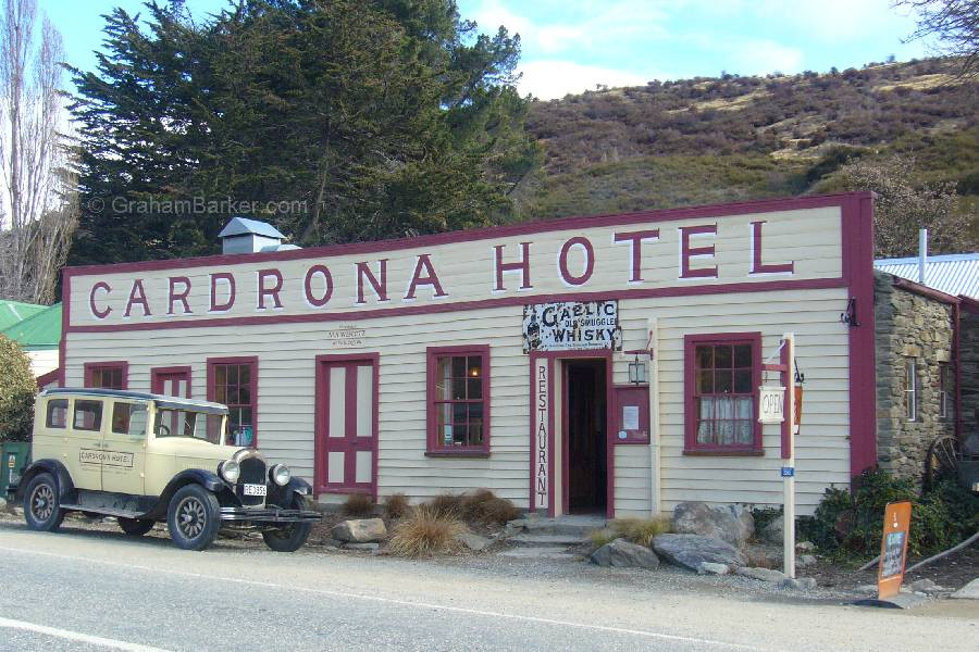The Cardrona Hotel, New Zealand, where the bra fence originators drank and became merry