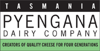 Label on a cheese from Pyengana Dairy Company