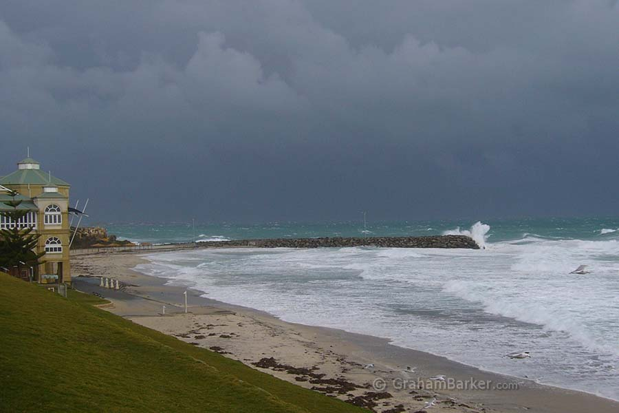 Cottesloe Beach in winter, Western Australia