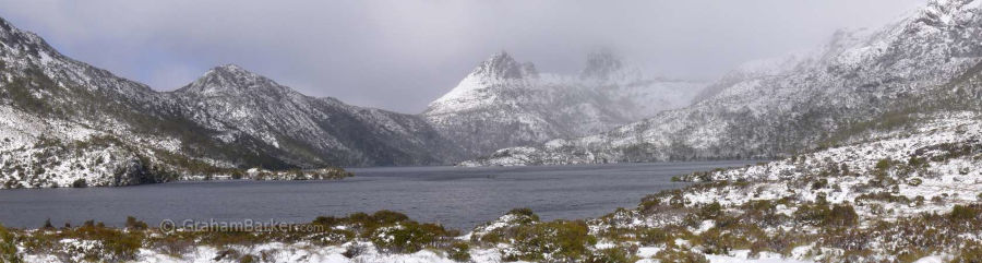 Cradle Mountain panorama from Dove Lake, Tasmania
