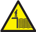 A deep water sign used in other countries