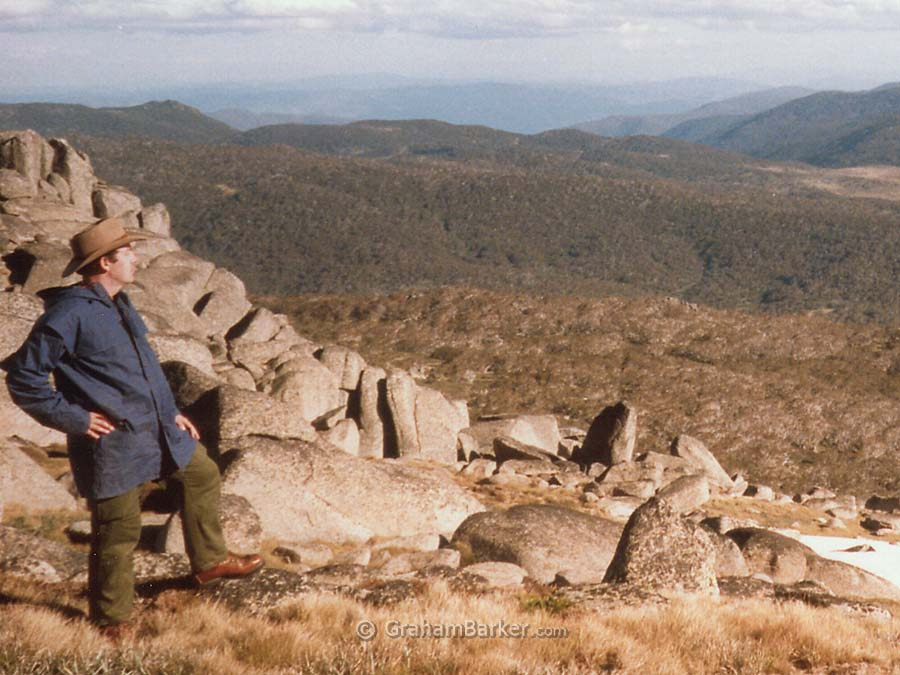 nowy Mountains view, NSW, Australia